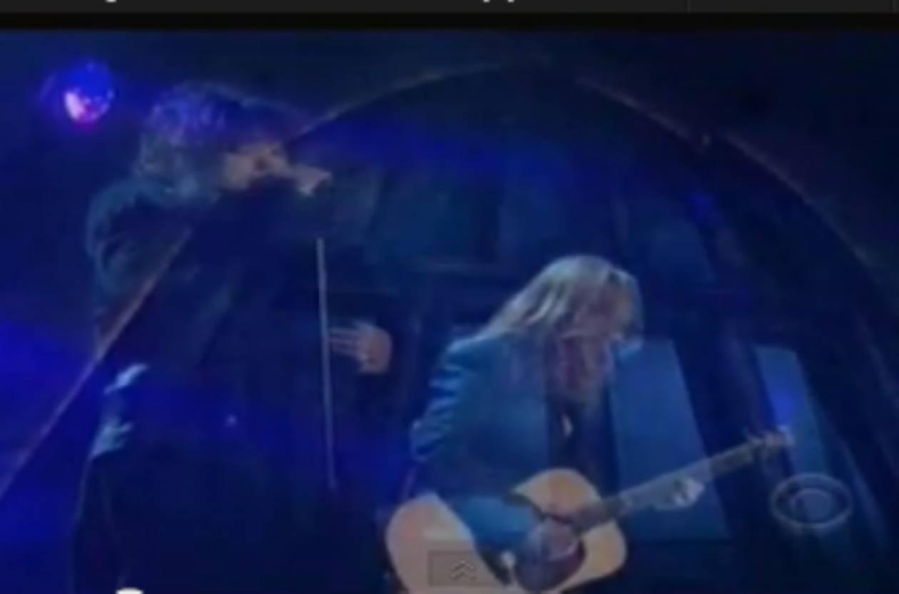 Βίντεο:Το ζεύγος Ομπάμα τίμησε τους Led Zeppelin