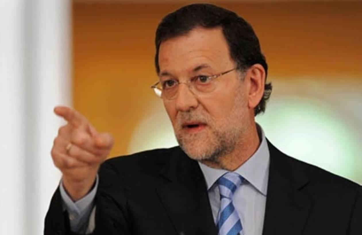 Απαισιόδοξος ο Ισπανός πρωθυπουργός για τα δημοσιονομικά της χώρας