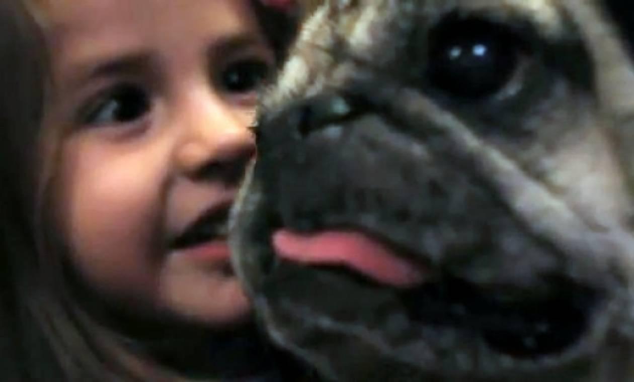 Σκύλος σαρώνει τη Νέα Υόρκη για να βρει δώρο για τη 2χρονη φίλη του