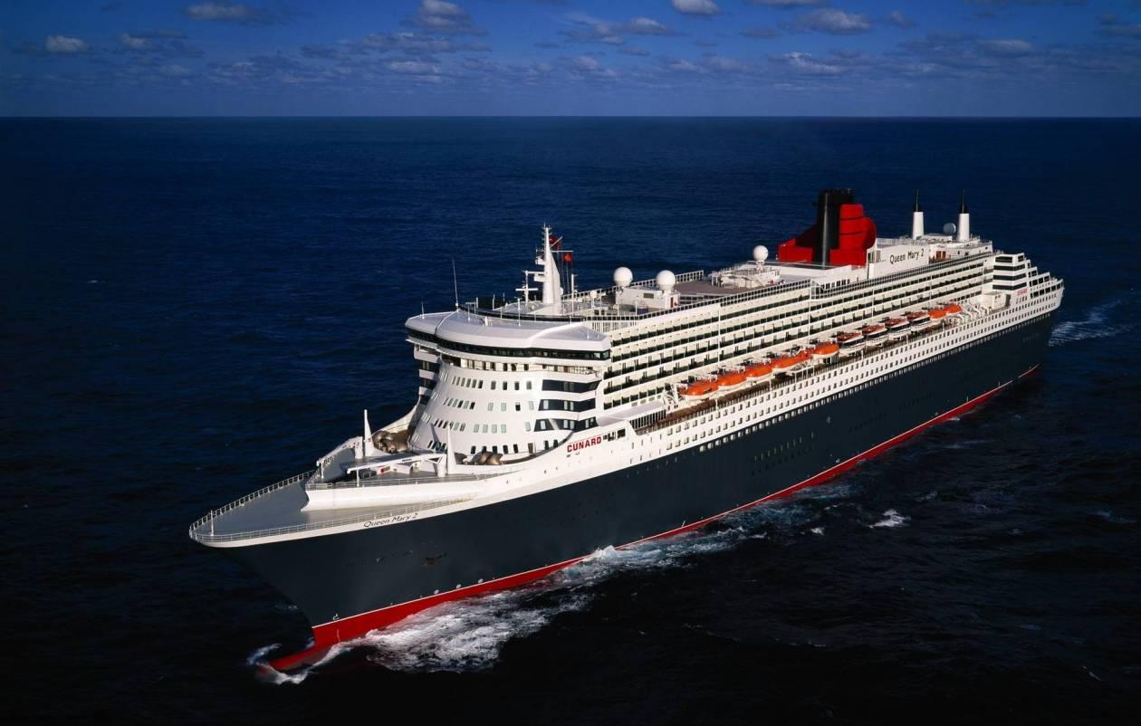 Από άγνωστο ιό προσβλήθηκαν 194 επιβάτες του Queen Mary 2
