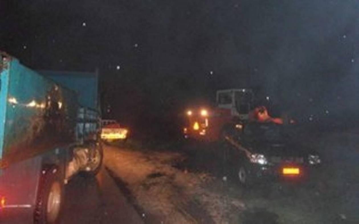 Συναγερμός στα Τρίκαλα: Κίνδυνος υπερχείλισης ποταμού