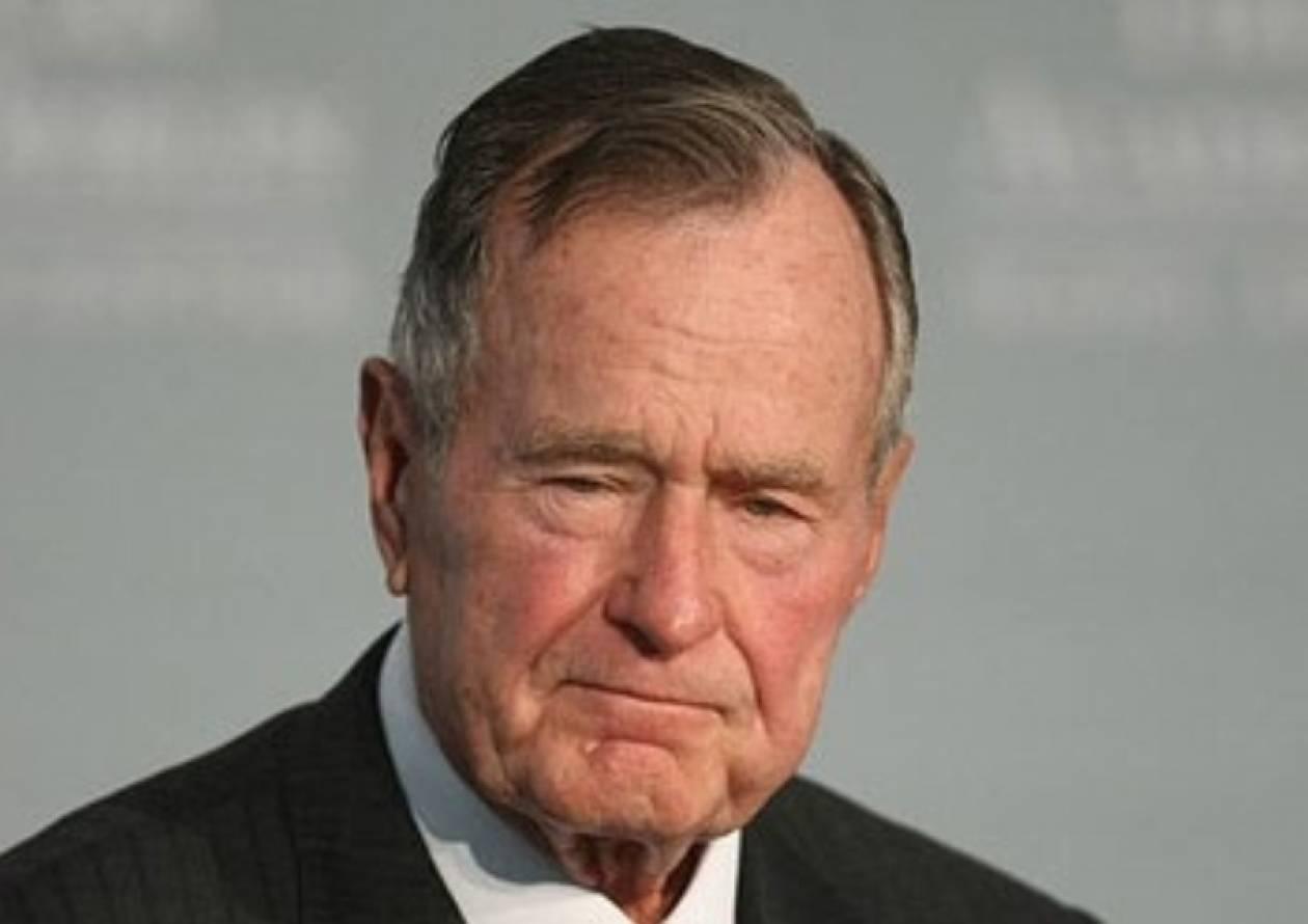 Bγήκε από την εντατική ο Τζορτ Μπους
