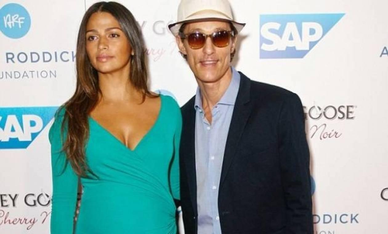 Matthew McConaughey – Camila Alves: Απέκτησαν και το τρίτο μωράκι τους