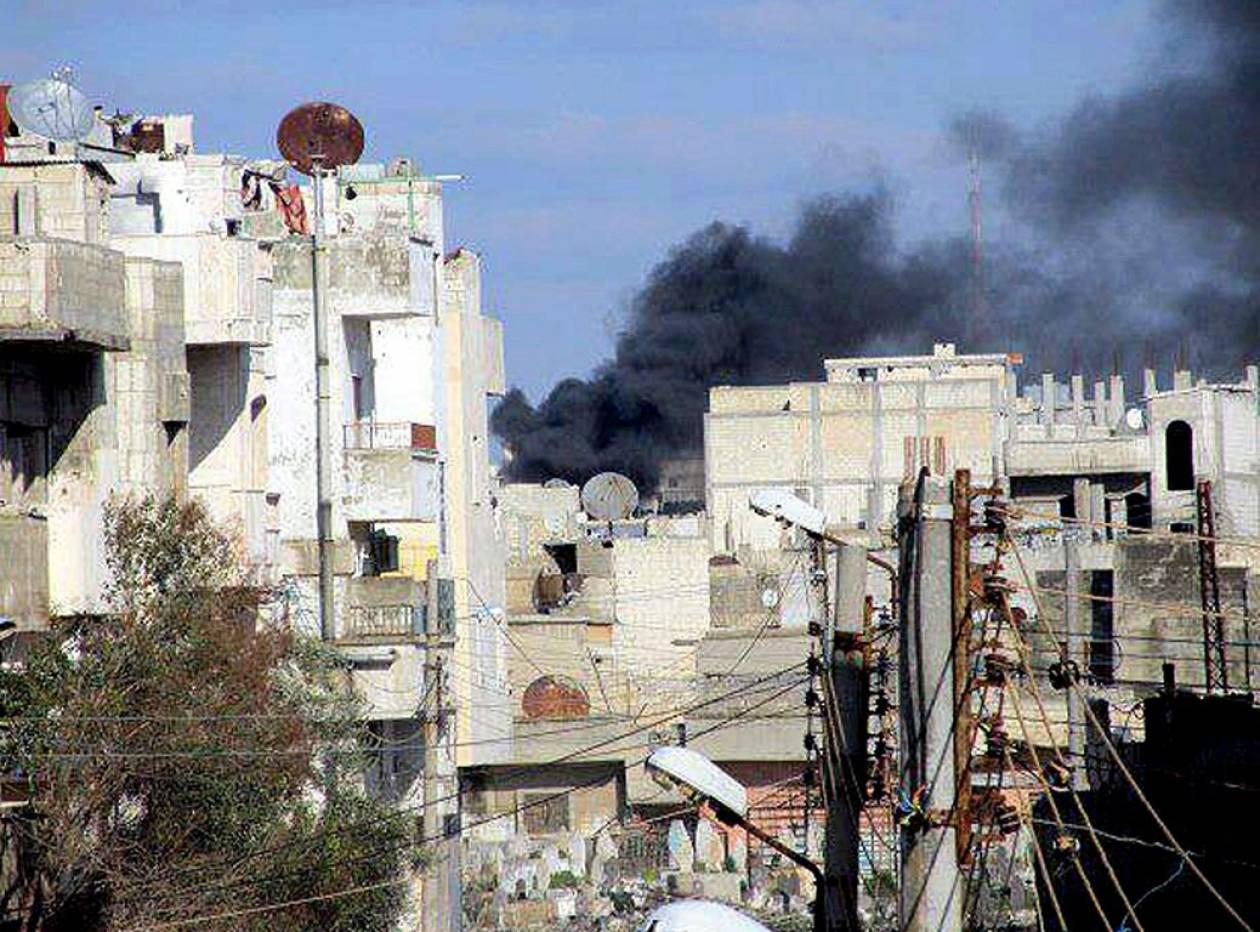 «Στα χέρια του συριακού στρατού» συνοικία της Χομς