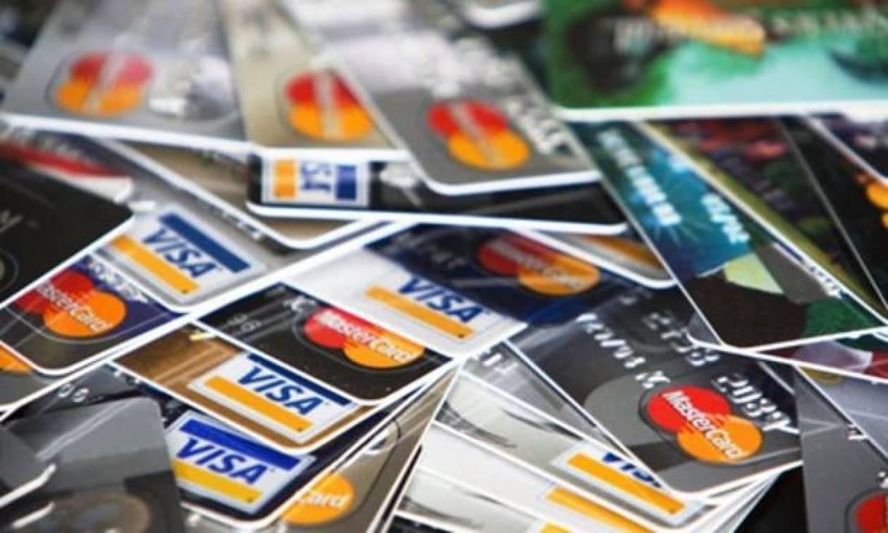 Υποχρεωτική χρήση πιστωτικών καρτών για ποσά από 500 ευρώ