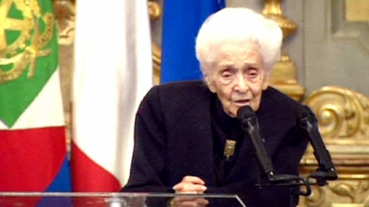 «Έφυγε» η Νομπελίστρια Ρίτα Λεβί Μονταλτσίνι