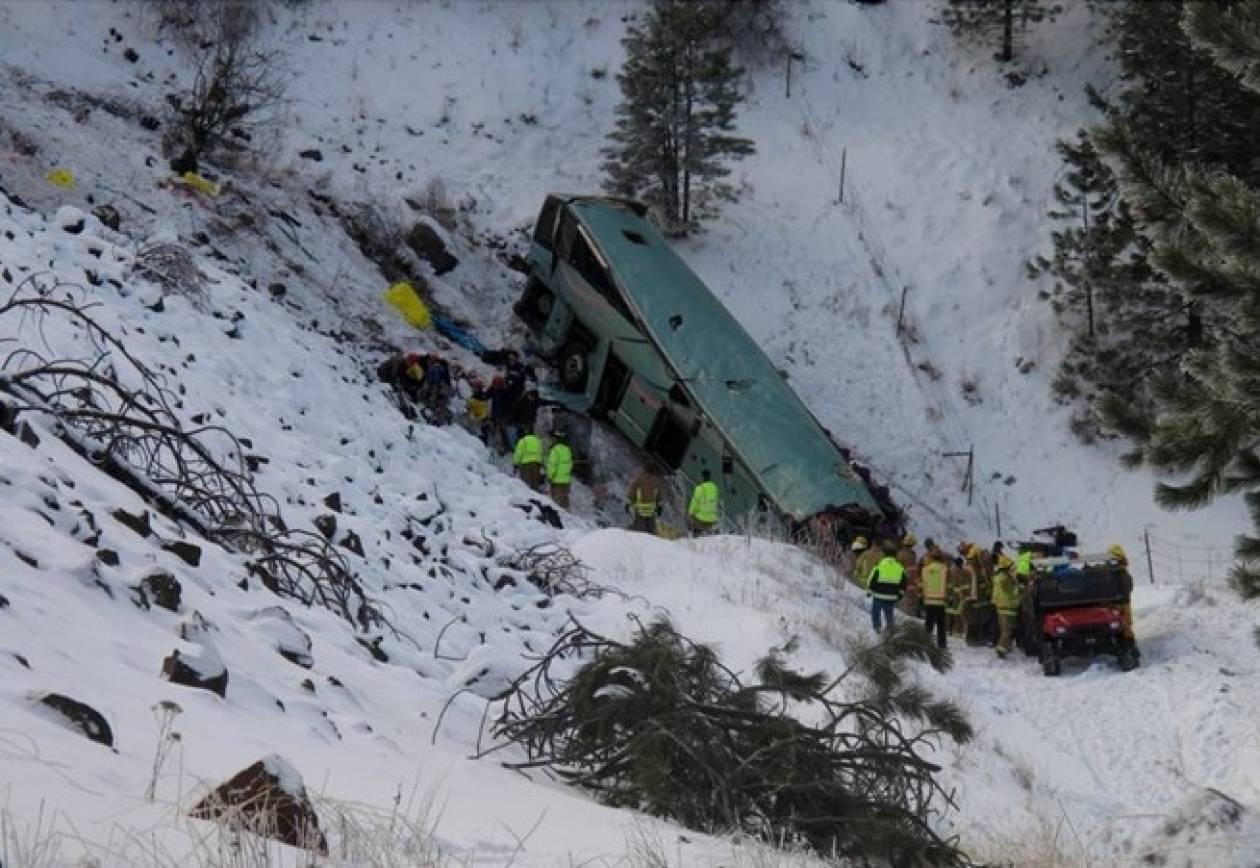 Πολύνεκρο τροχαίο δυστύχημα συγκλονίζει τις ΗΠΑ