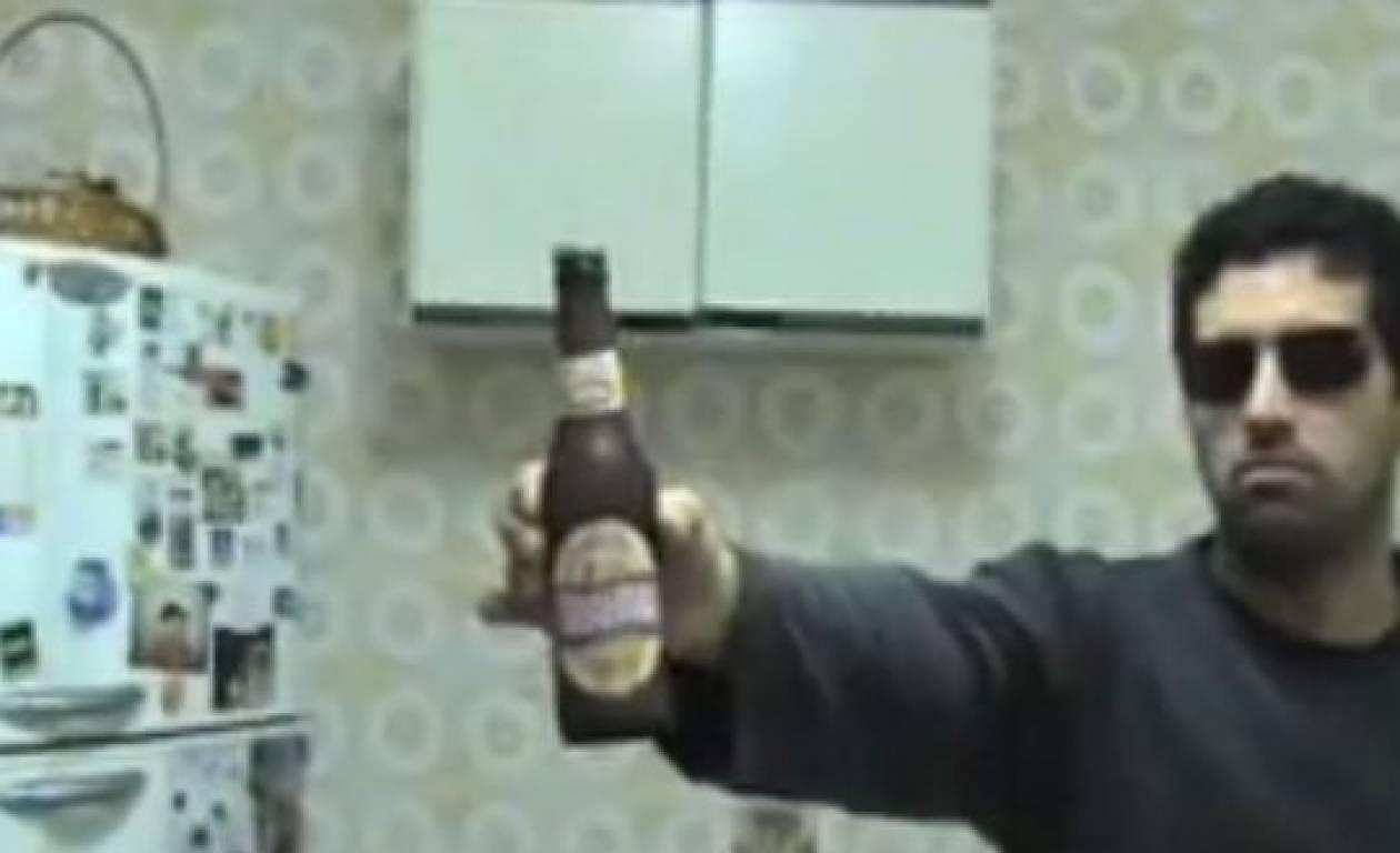 Βίντεο: Το καλύτερο άνοιγμα μπύρας ever