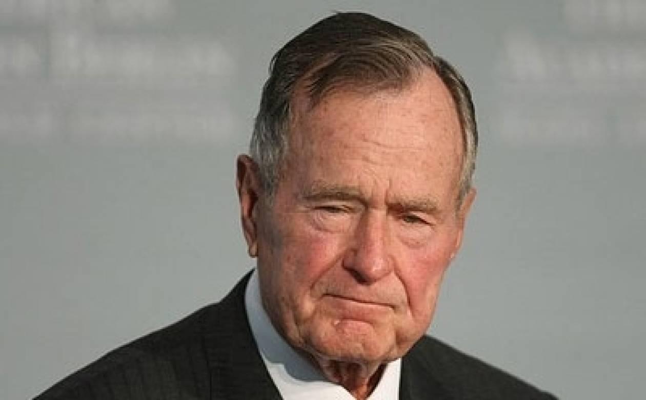 Βγήκε από το νοσοκομείο o Τζορτζ Μπους ο πρεσβύτερος