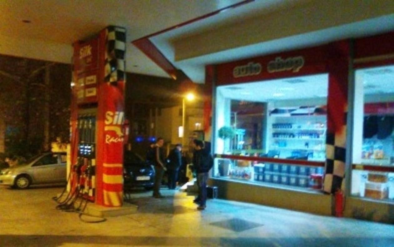 Κινηματογραφική ληστεία σε βενζινάδικο στη Λαμία