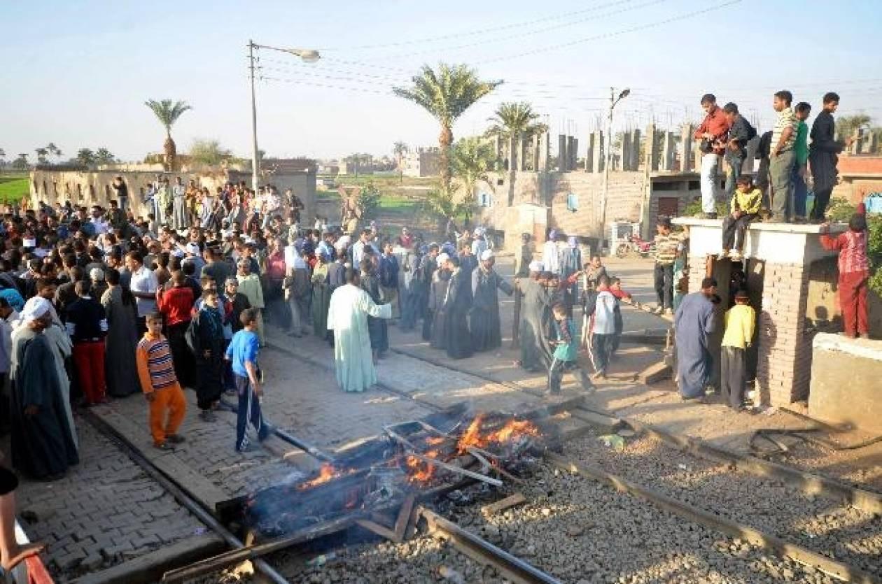 Τραγωδία στην Αίγυπτο από εκτροχιασμό τρένου