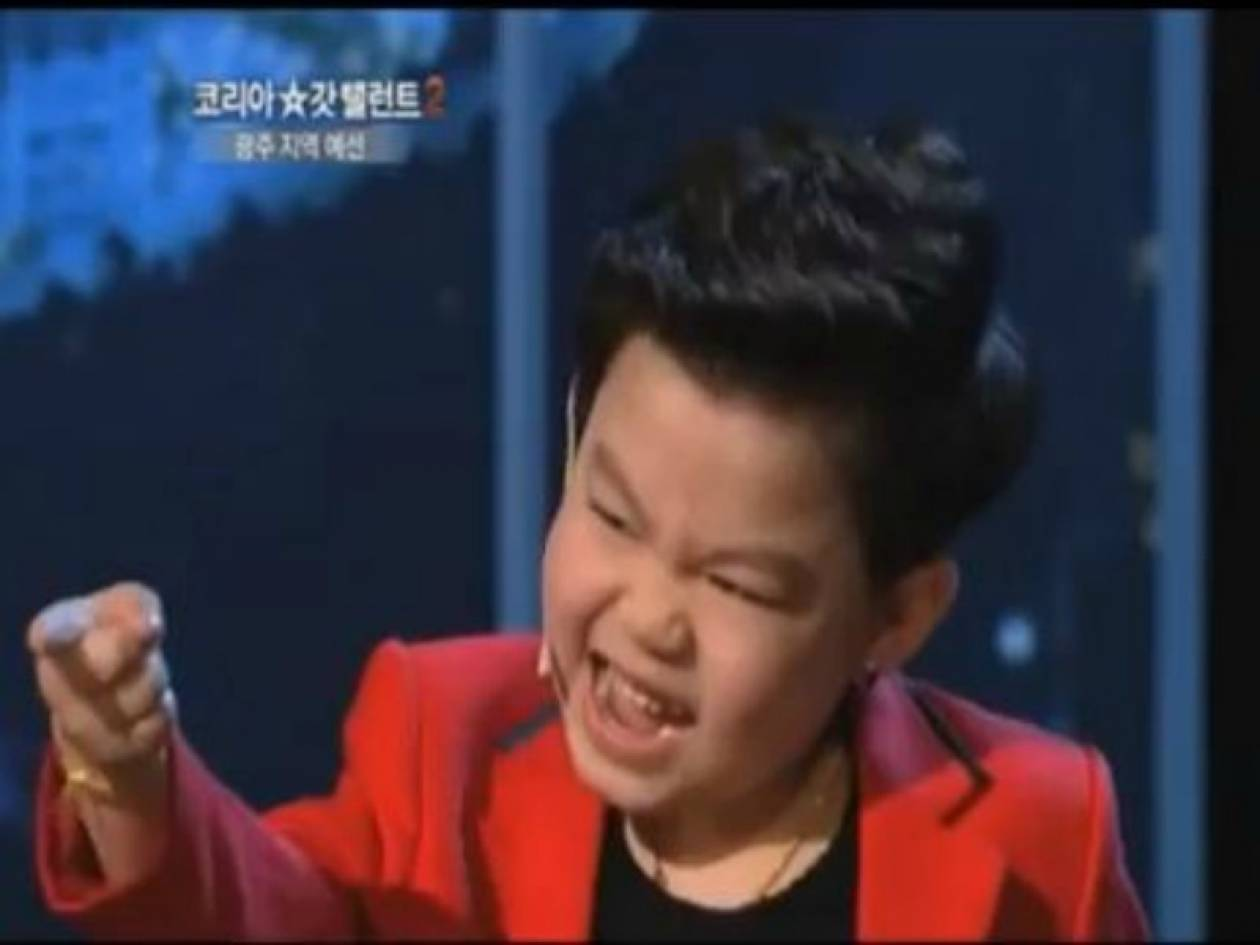 Βίντεο: Ο μικρός που ξετρέλανε το «Κορέα έχεις ταλέντο»