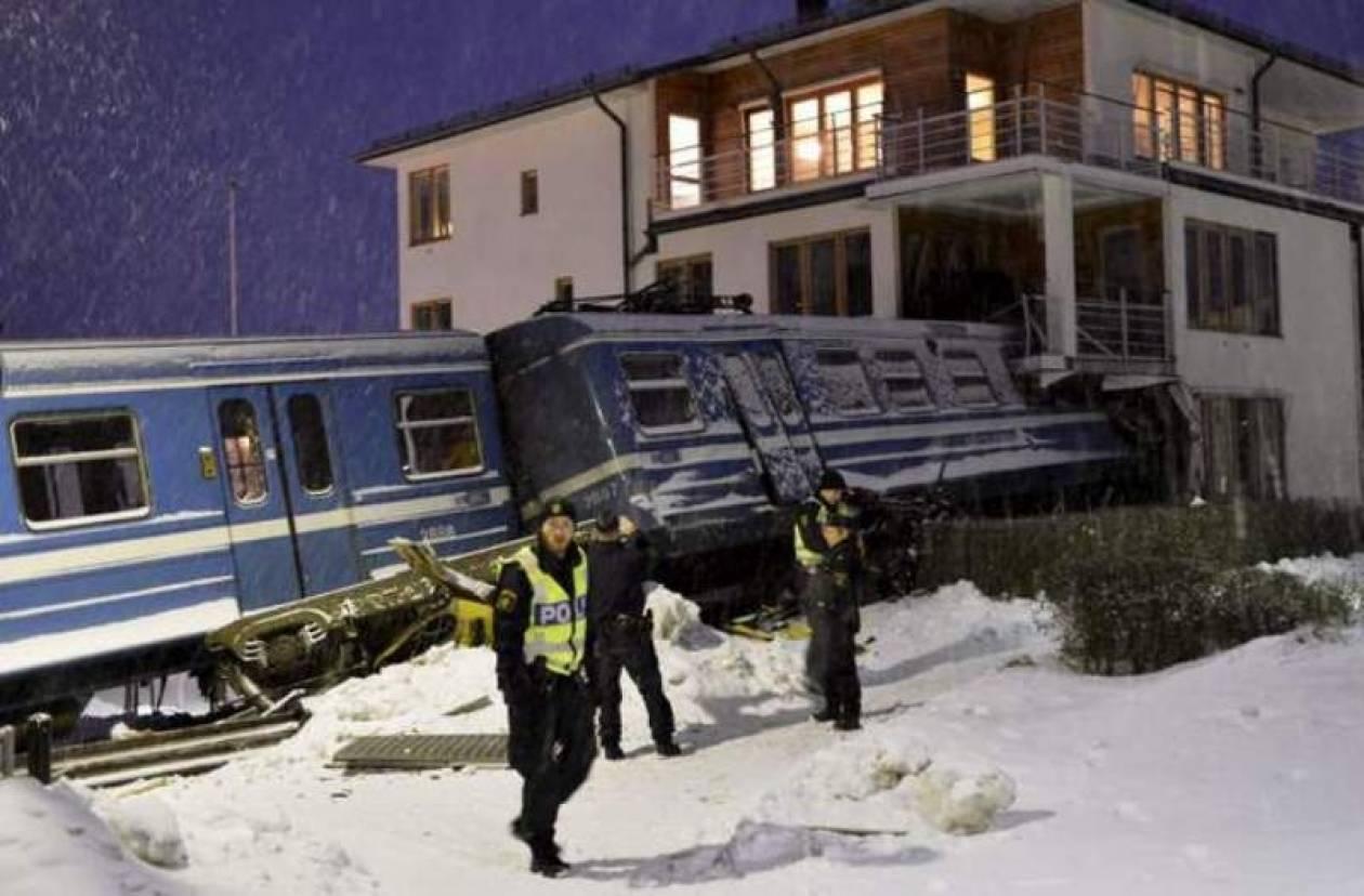 Καθαρίστρια έκλεψε... τρένο και συγκρούστηκε με σπίτι!