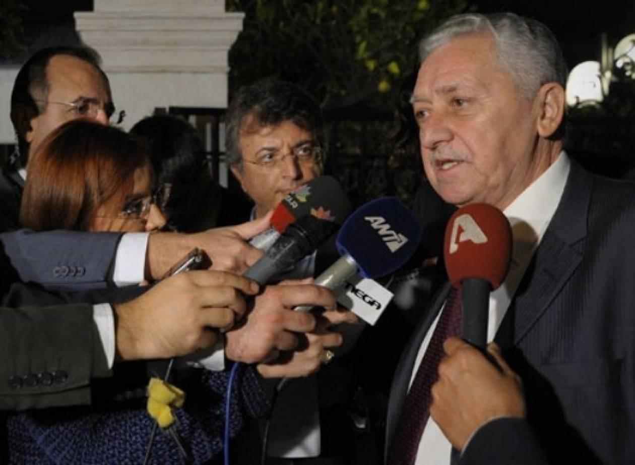 Κουβέλης: Να σηκώσουμε οχυρό προστασίας για τη Δημοκρατία