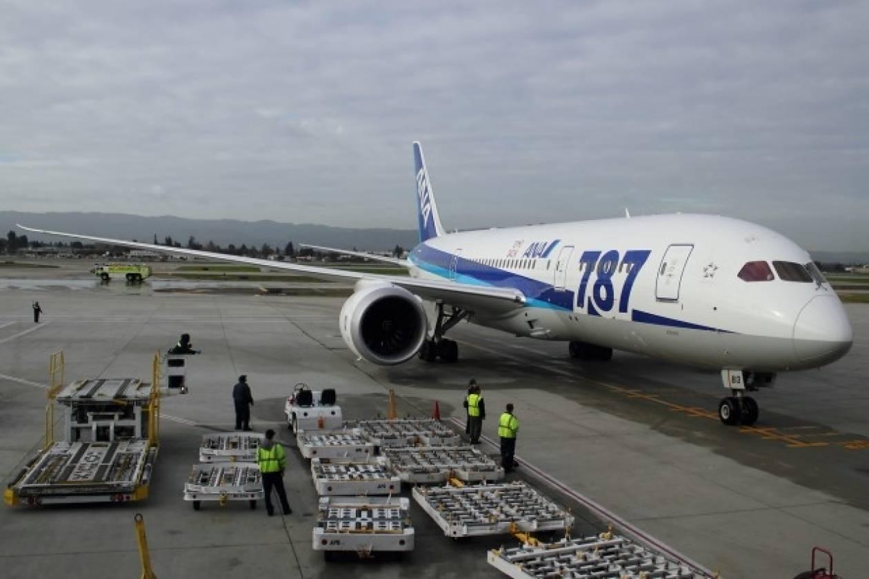 Ιαπωνία: Νέο πρόβλημα για αεροσκάφος Μπόινγκ 787