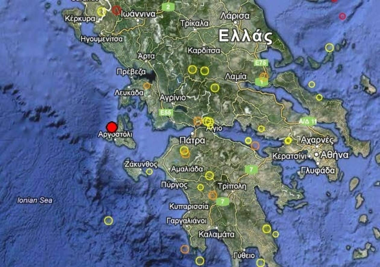 Σεισμός 3,6 Ρίχτερ στο Ληξούρι