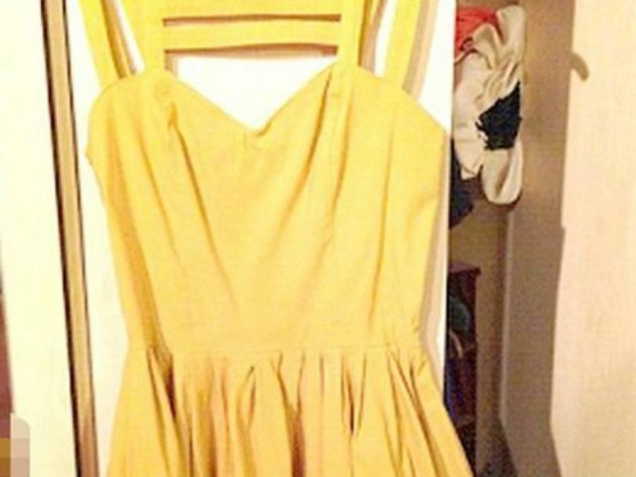 Πανικός στο internet με την ημίγυμνη και το κίτρινο φόρεμα