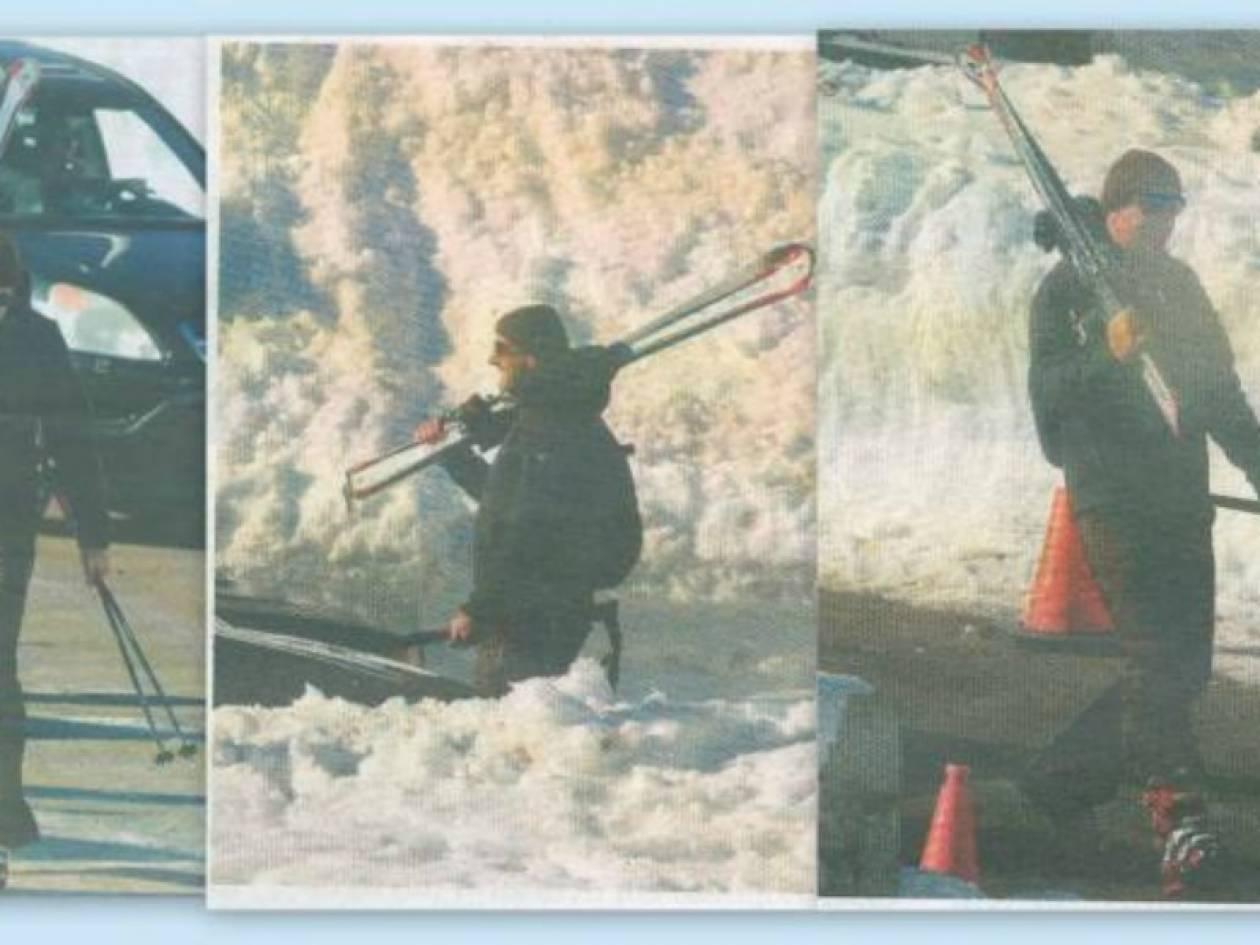 Γιώργος Βουλγαράκης: Αμέριμνος για σκι στον Παρνασσό