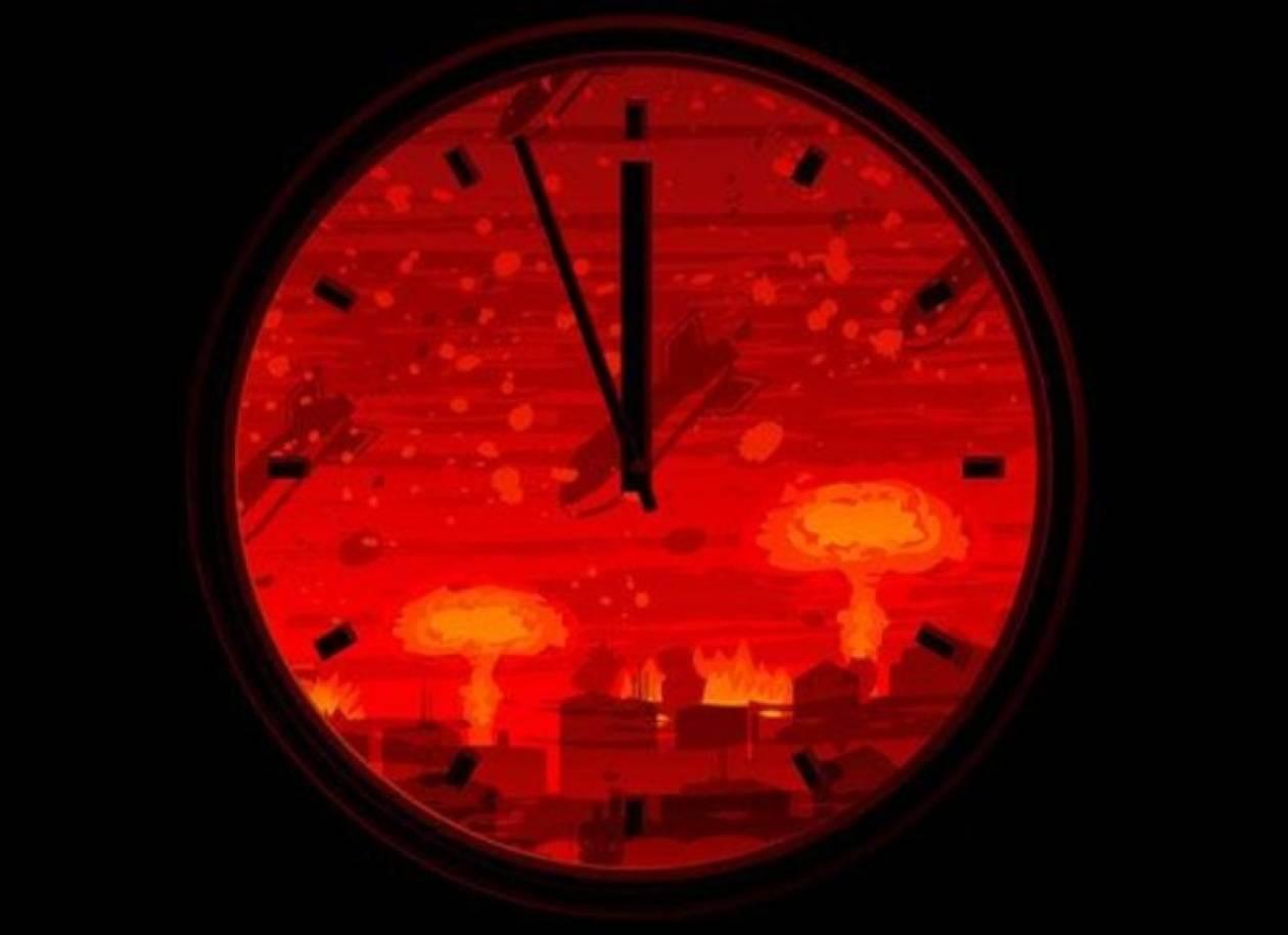 Το ρολόι της καταστροφής του κόσμου θα μείνει «παγωμένο» το 2013