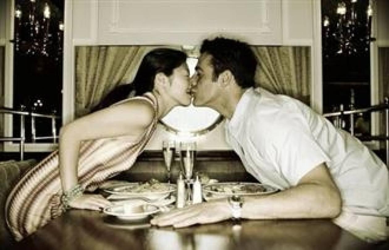 Έρευνα: Tελικά ο έρωτας περνάει απ' το στομάχι