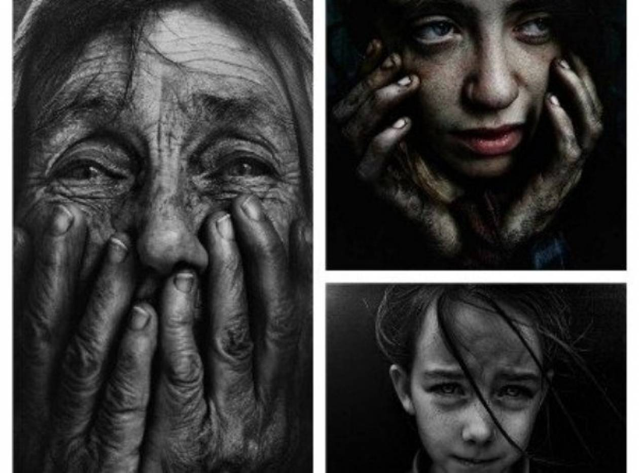 Φωτογραφίζοντας τη φτώχεια: Συγκλονιστικά πορτρέτα ανθρώπων