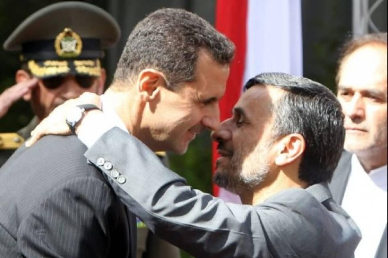 Το Ιράν «βάζει πλάτη» στον Άσαντ
