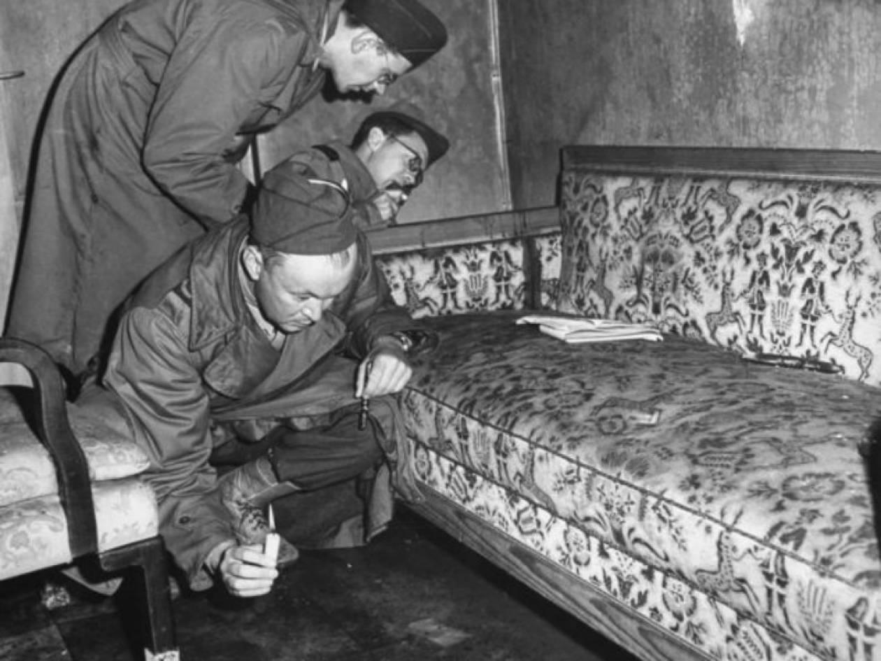 Αδημοσίευτες φωτογραφίες: Εδώ αυτοκτόνησε ο Χίτλερ και η Εύα Μπράουν
