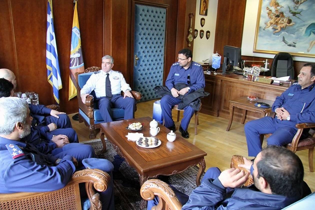 Στο ΓΕΑ αξιωματικοί της Πολεμικής Αεροπορίας  του Κατάρ