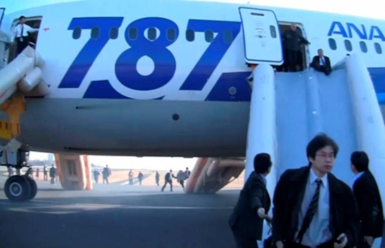Καθηλωμένα τα Boeing 787 σε όλο τον κόσμο