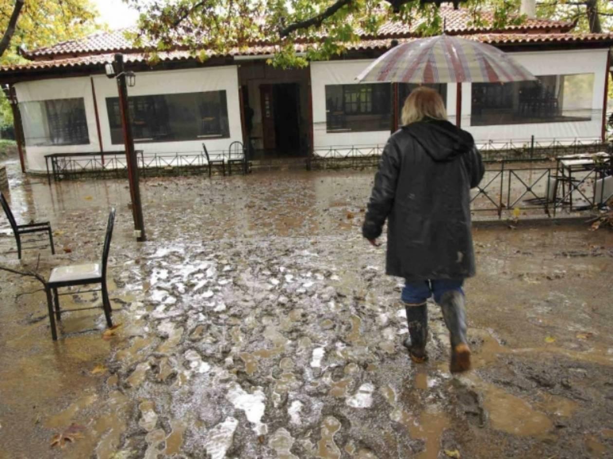 Βίντεο: Πλημμύρες και προβλήματα στην Αχαΐα