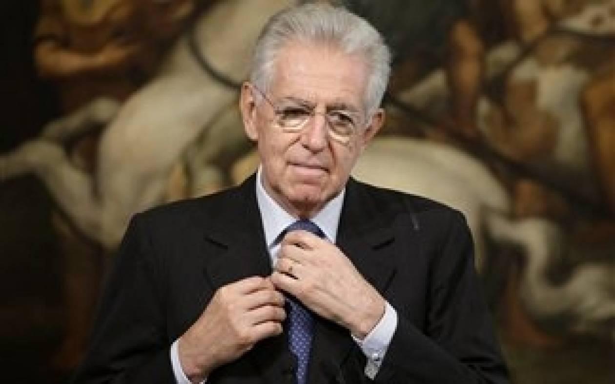 Ο Μόντι διαψεύδει τη συμφωνία για συμμαχία κατά του Μπερλουσκόνι