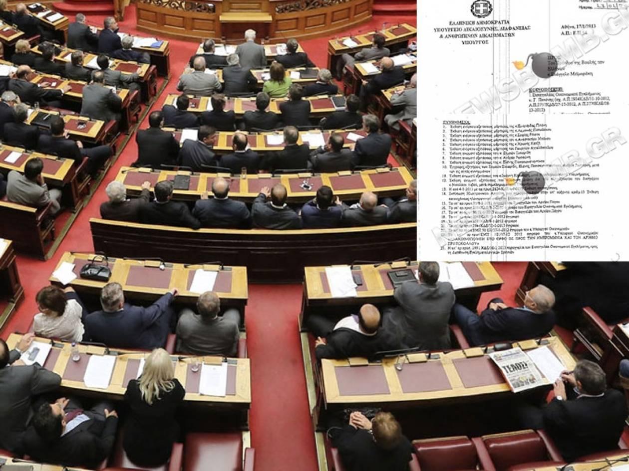 Νέο κοινοβουλευτικό πραξικόπημα!