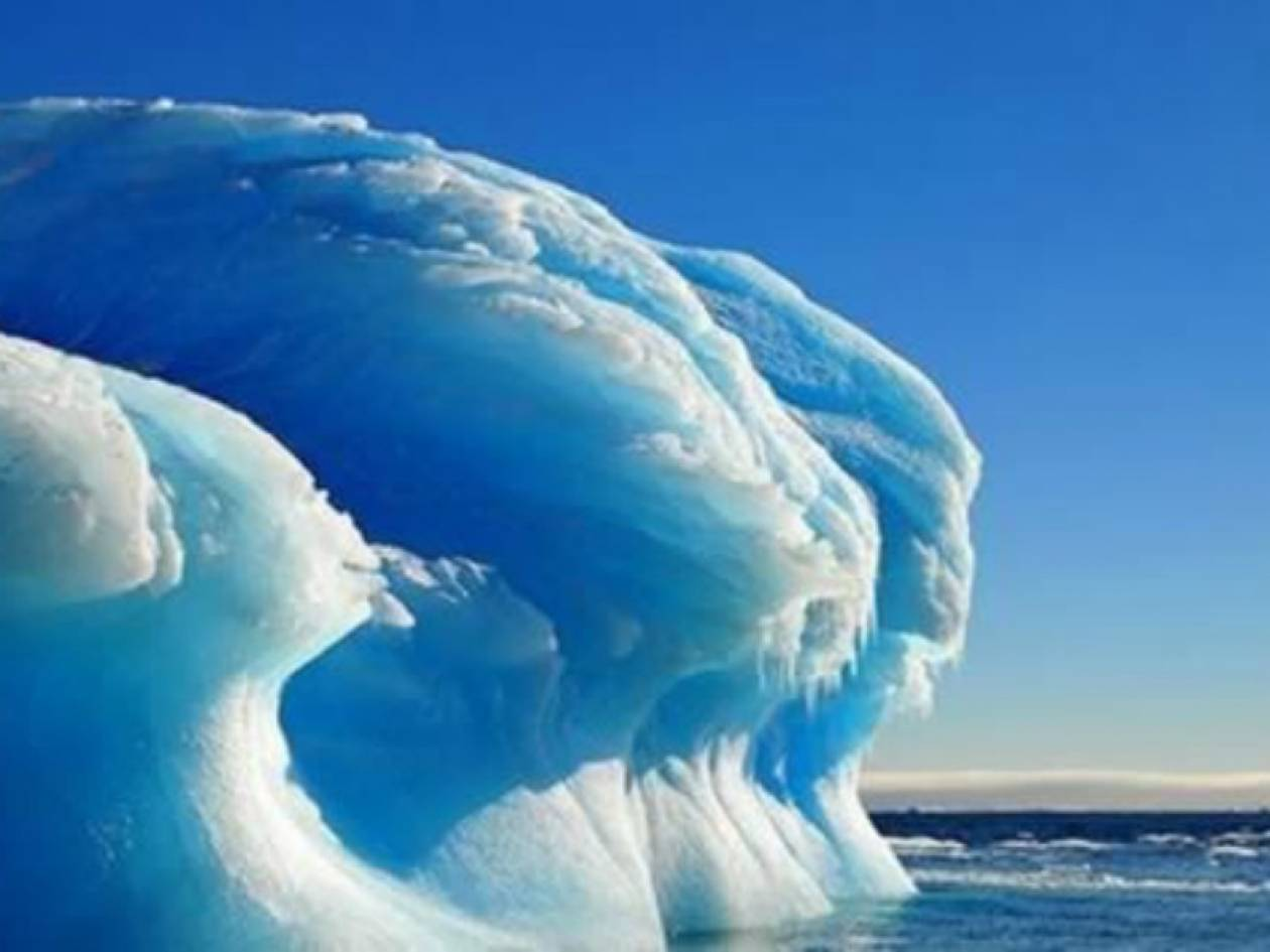 Εκπληκτικές εικόνες: Δείτε δημιουργήματα της φύσης από πάγο