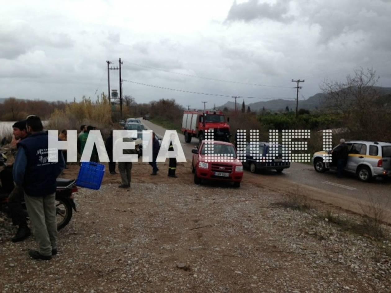 Συναγερμός στην Ηλεία:Πνίγονται κοπάδια - Καταστρέφονται περιουσίες