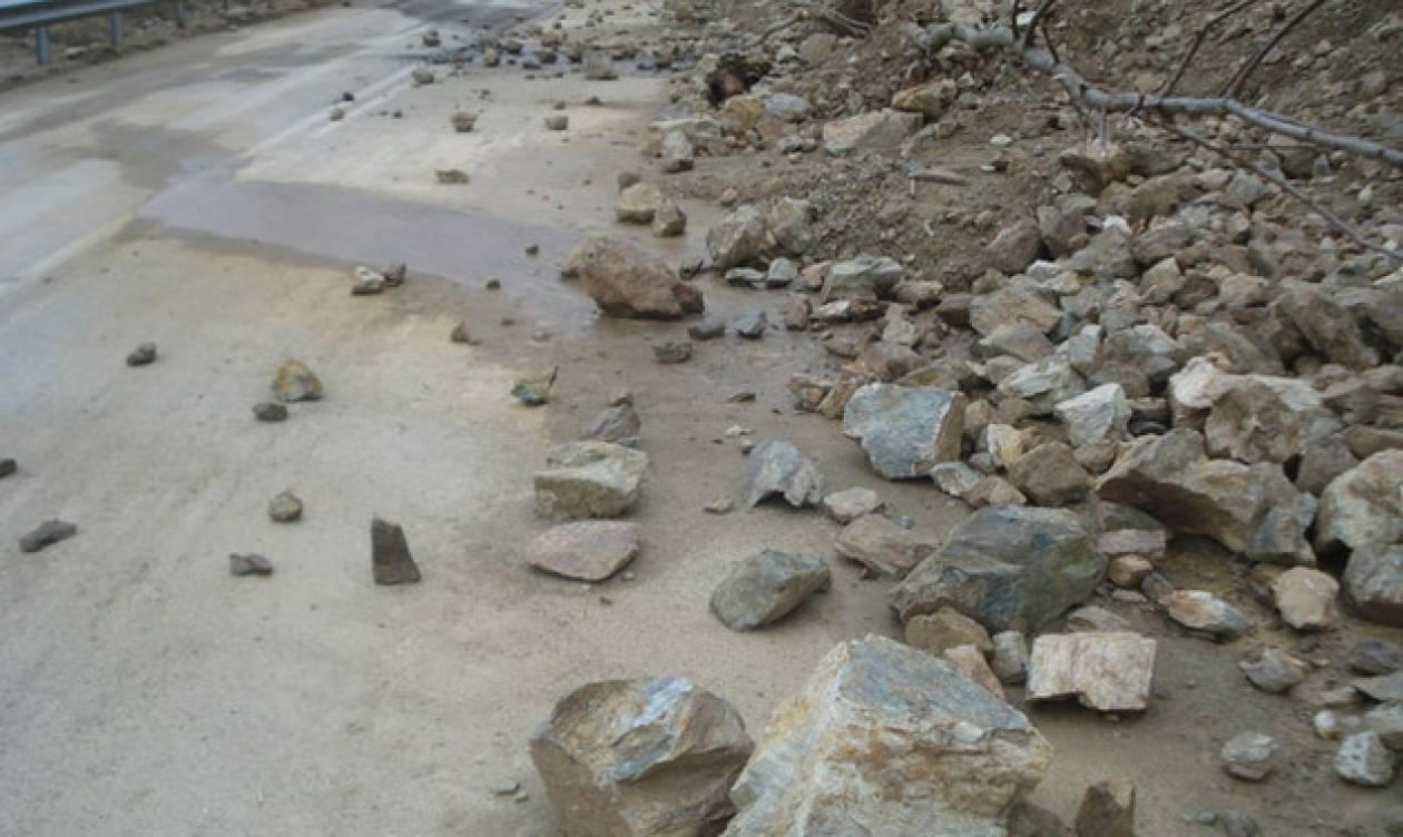 Προβλήματα από κατολισθήσεις στα ορεινά της Αχαΐας