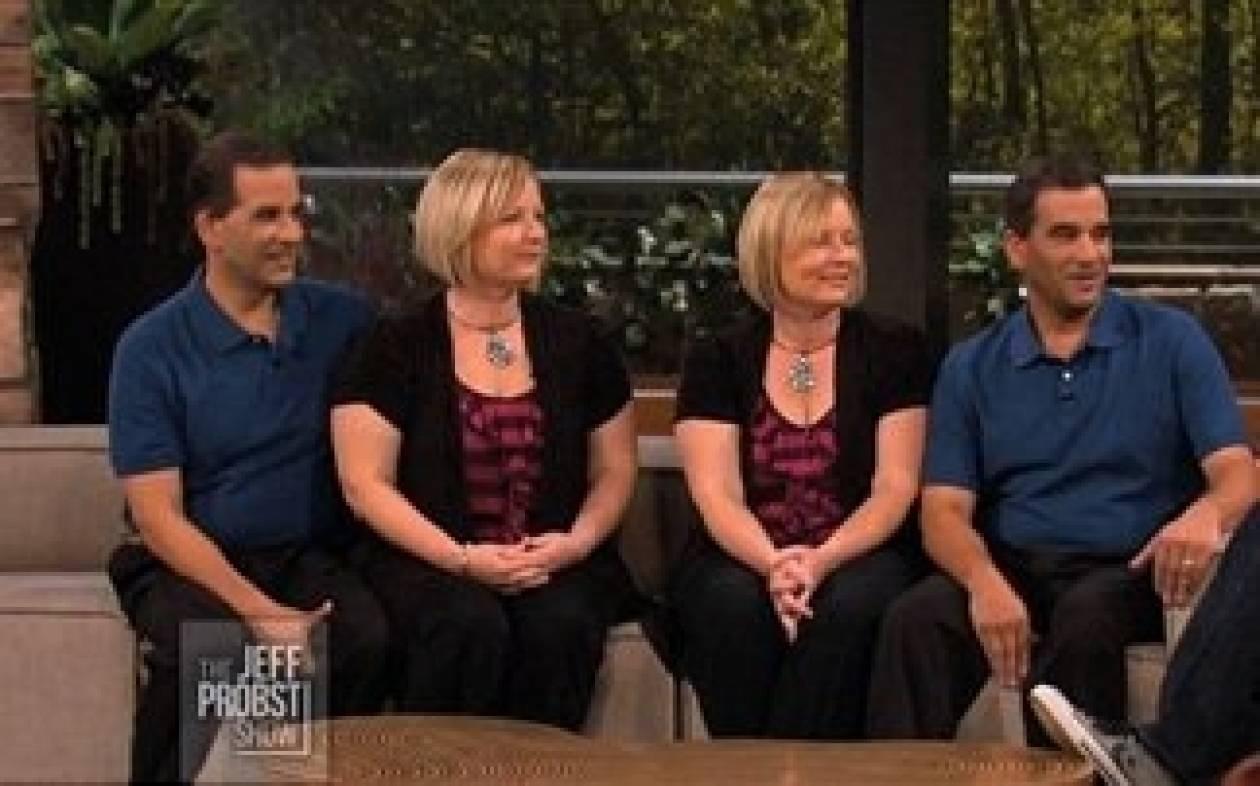Απίστευτο: Δίδυμες, παντρεύτηκαν δίδυμους και έκαναν δίδυμα!