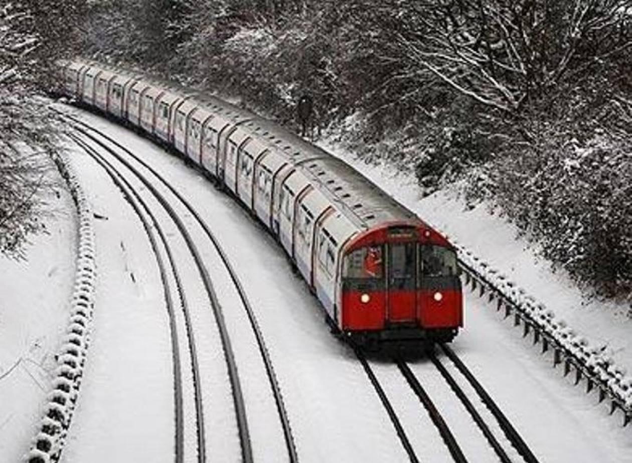 Έτρεχε γυμνός στους -40 βαθμούς κελσίου για να προλάβει το τρένο