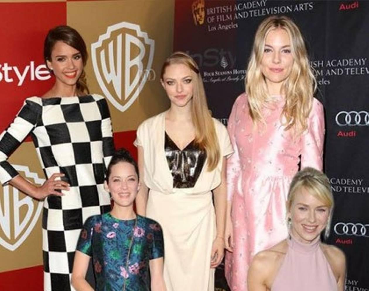 Sienna, Marion, Jessica, Naomi, Amanda: Ποια ήταν η πιο καλοντυμένη;