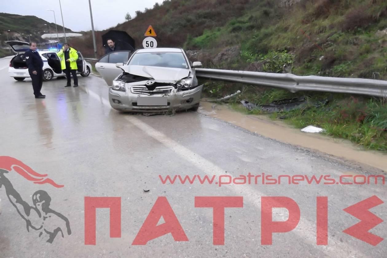 Ηλεία: Οδηγός έχασε τον έλεγχο λόγω κατολίσθησης σε τούνελ!