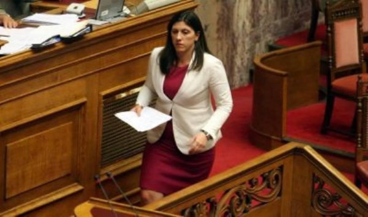 Κωνσταντοπούλου: Συγκάτοικοι στη συγκάλυψη!