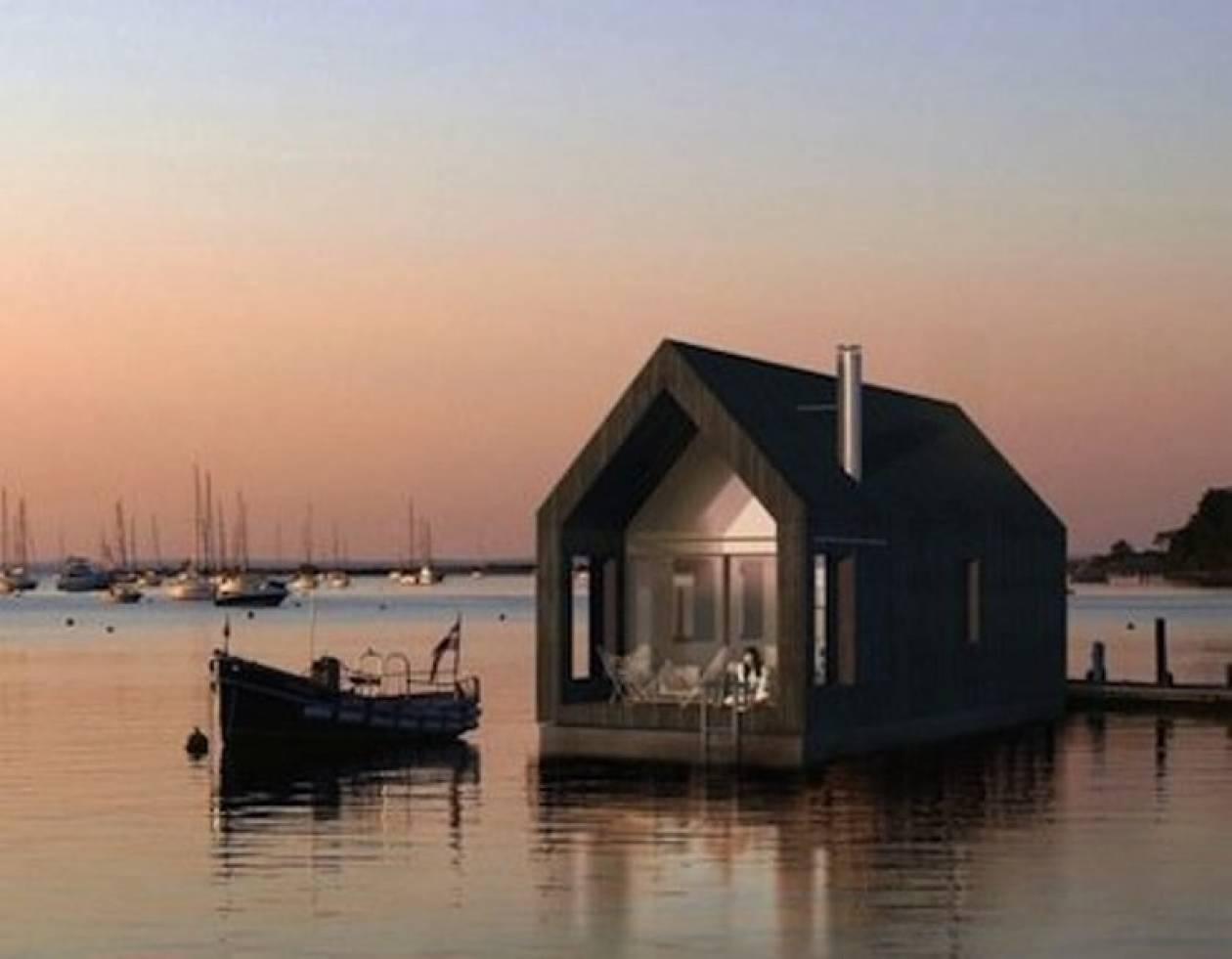 Ένα ντιζαΐνάτο σπίτι φτιαγμένο για να επιπλέει