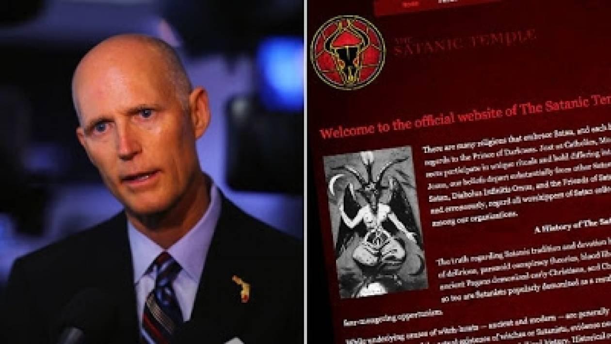 Σατανιστές οργανώνουν συγκέντρωση υπέρ του κυβερνήτη της Φλόριντα