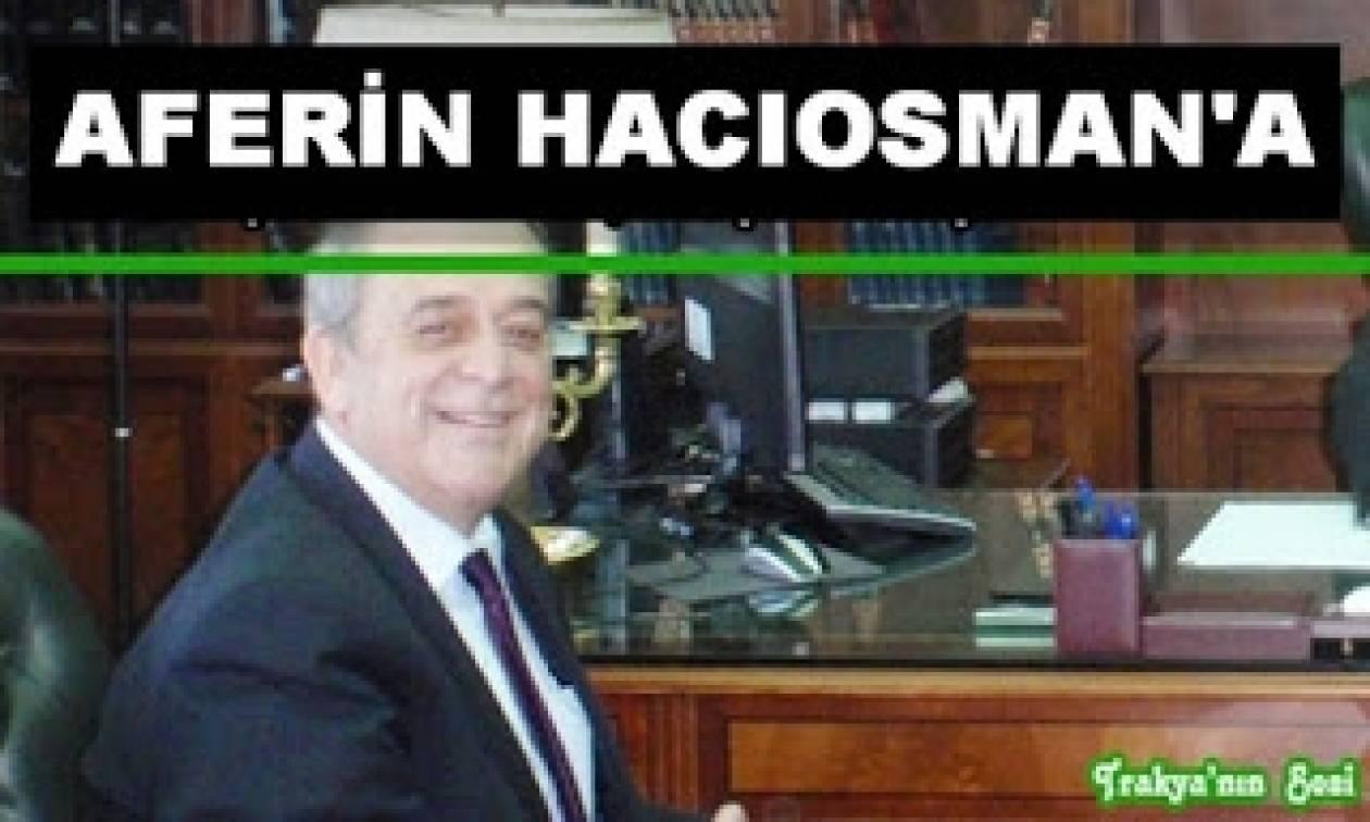 «Ο βουλευτής Αχμέτ Χατζηοσμάν ξεπέρασε τον εαυτό του»