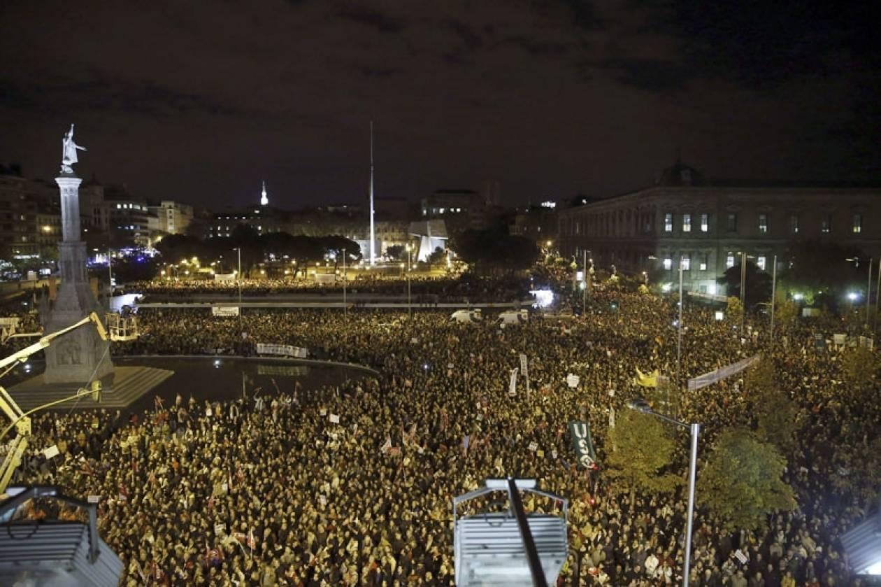 Τρόπος ζωής οι διαδηλώσεις πλέον στην Ισπανία