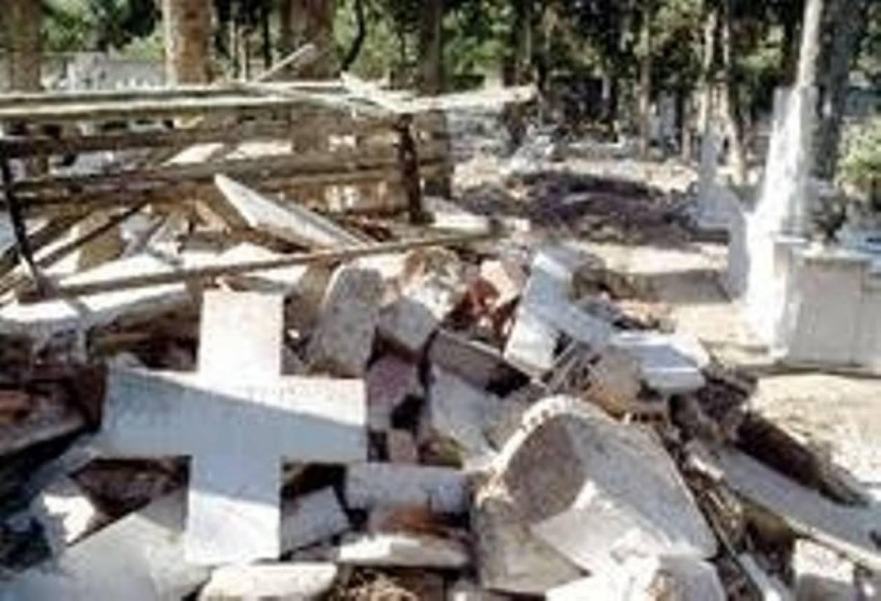 Αλβανοί εξτρεμιστές βεβηλώνουν νεκροταφεία Ορθοδόξων
