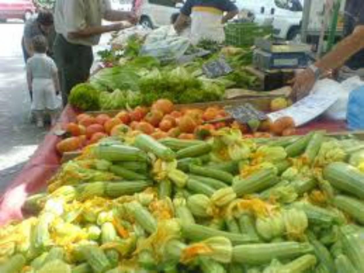 Λαϊκή αγορά με εκπτώσεις για πολύτεκνους και άνεργους