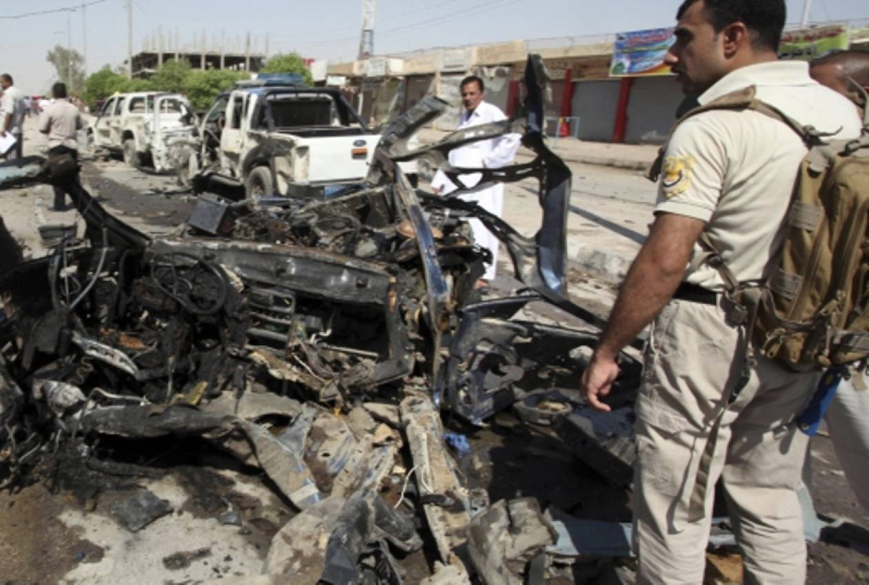 Μπαράζ βομβιστικών επιθέσεων στη Βαγδάτη