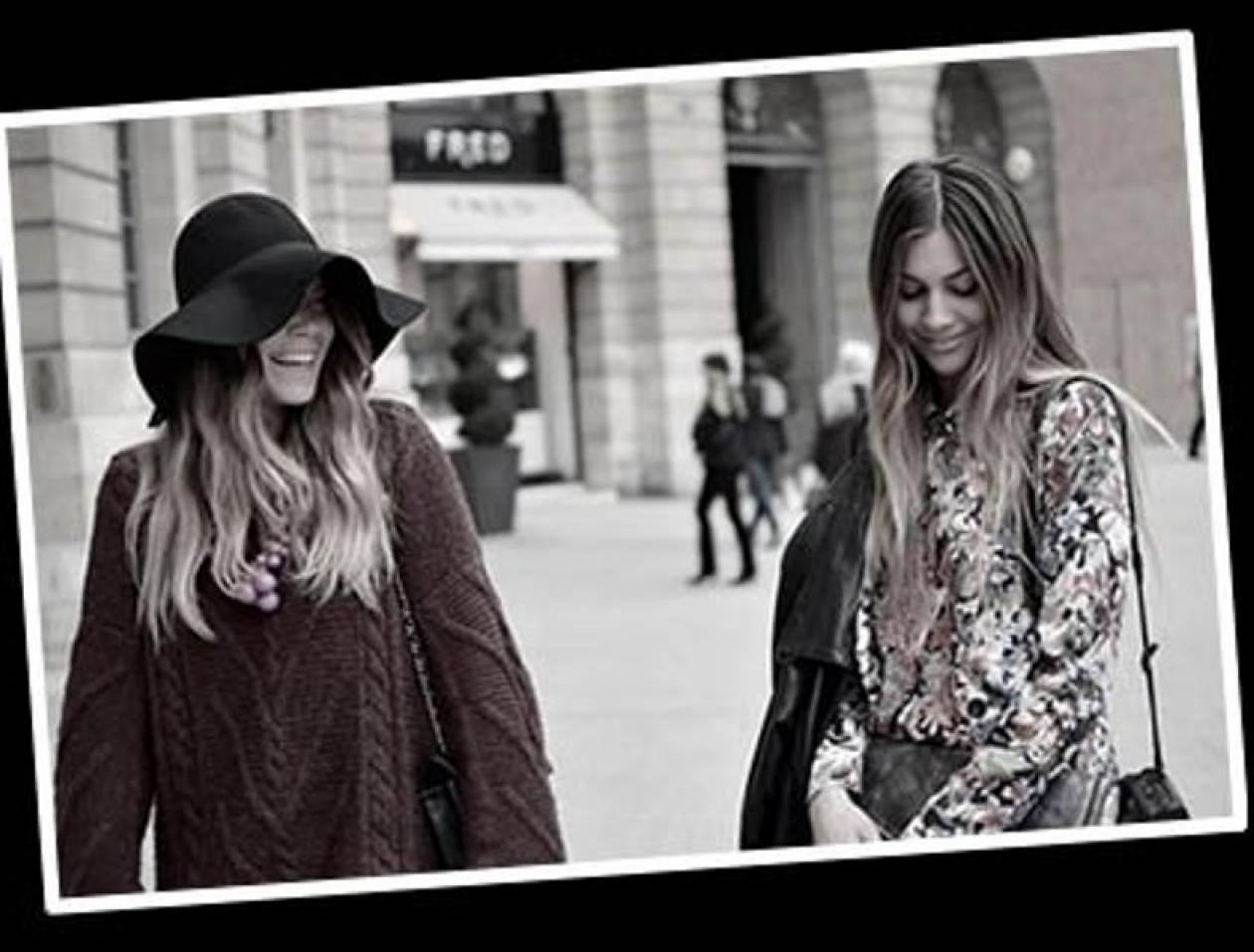 Twin Fashion: Oι αδερφές Olsen της Ελλάδας με το μοναδικό στυλ