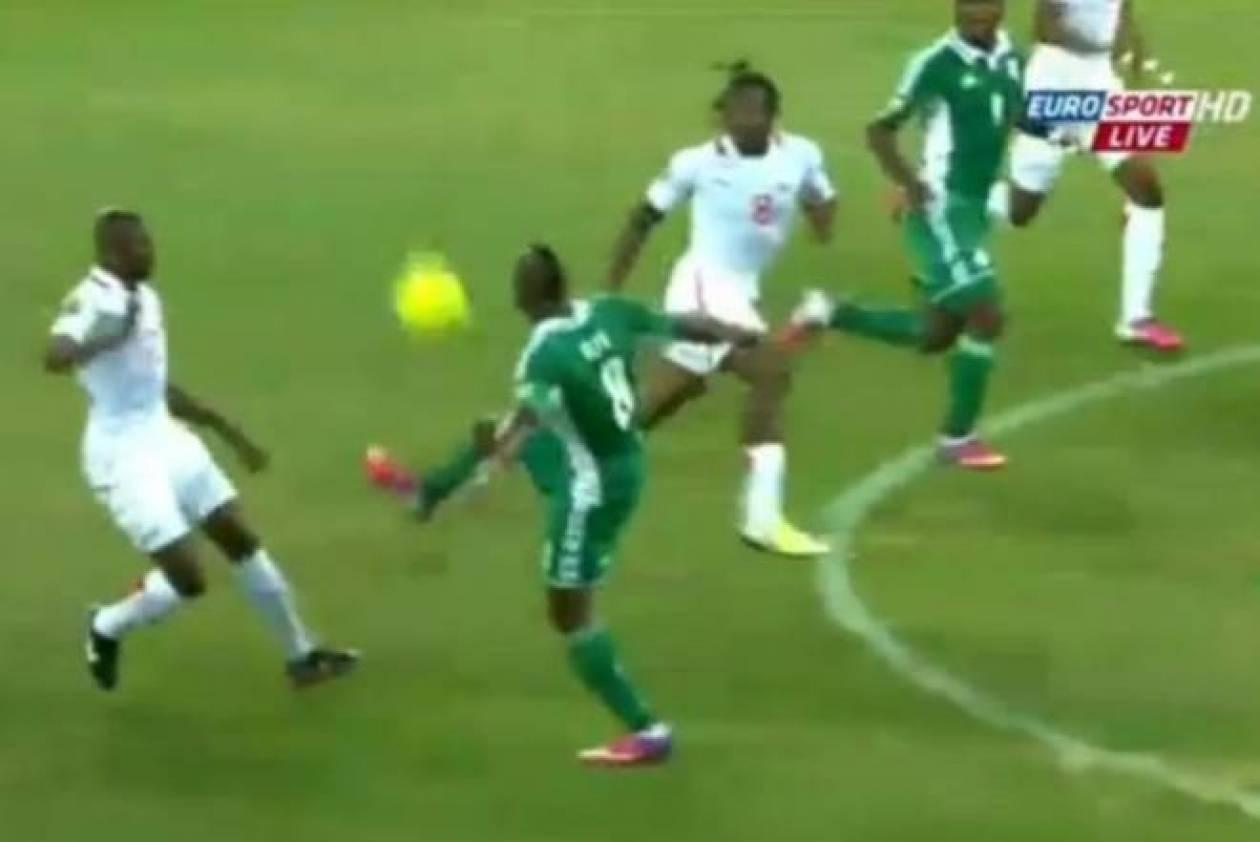 Copa Africa: Του την έστειλε στο… πιάτο! (video)