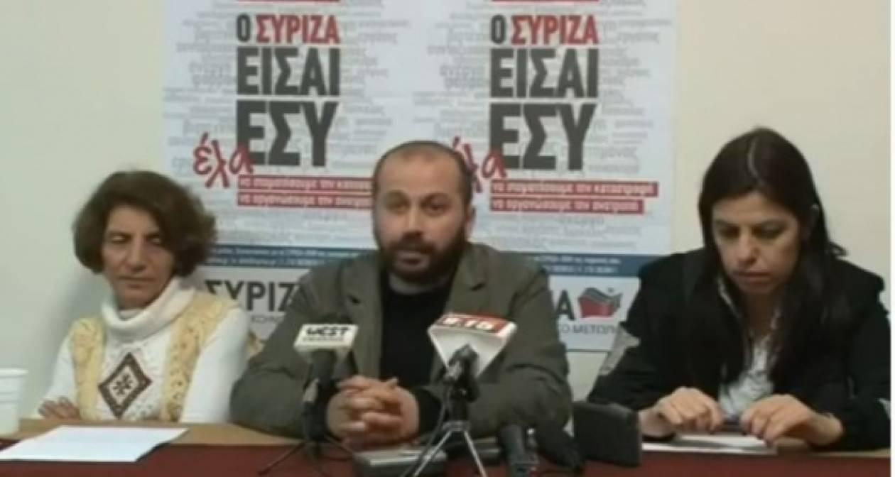 «Πόλεμος» μεταξύ ΣΥΡΙΖΑ-κυβέρνησης για Mall και Διαμαντόπουλο